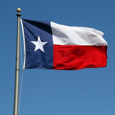 Texas Single Sided 3'X5' Flag Rough Tex® 150D