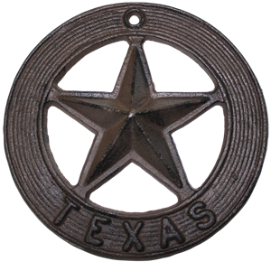 Cast Iron Texas Star