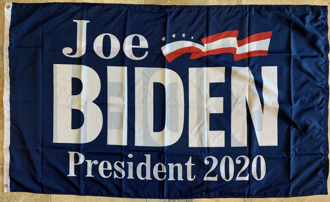 Joe Biden Democratic Party 2020 Presidential Blue Double Sided Flag 3'x5' DuraLite® 68D Nylon