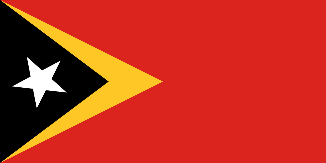 Timor-Leste Flag 3x5ft Poly