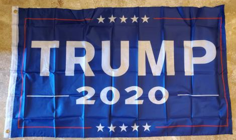 President Donald Trump 2020 Campaign Banner Official Flag 3x5 Feet 68D Nylon