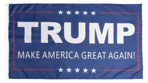 Trump II double sided 3'x5' polyester