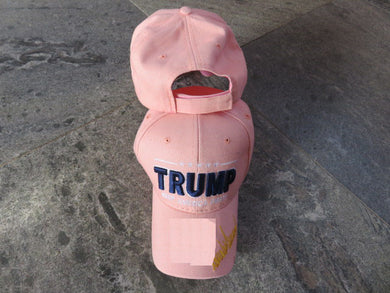 *IN STOCK*  Trump Gold Signature KAF Keep America First Pink  - Cap
