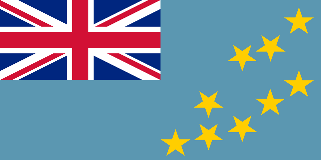 Tuvalu Flag 3x5ft Poly