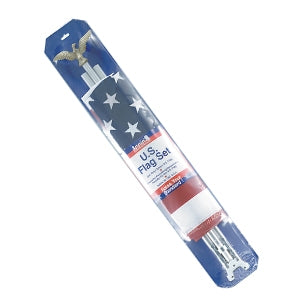 USA FLAG POLE KITS 24 (ONE CASE)