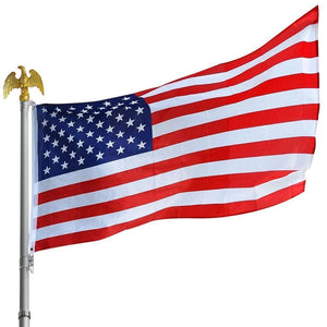 100 2X3 FEET USA FLAGS AMERICAN 68D