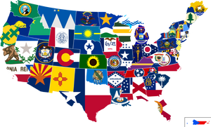 "(144 PER STATE) 50 UNITED STATES FLAGS 4""X6"" WITH 10"" STAFF STATE FLAG COLLECTION"