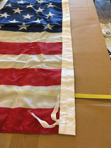 144 3X5 FEET USA FLAGS AMERICAN 68D with cotton ties