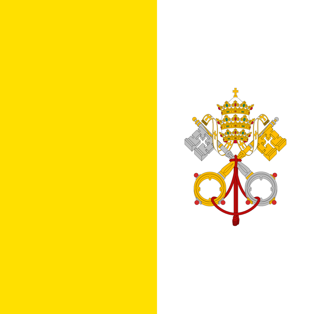 Vatican City Flag 3x5ft Poly