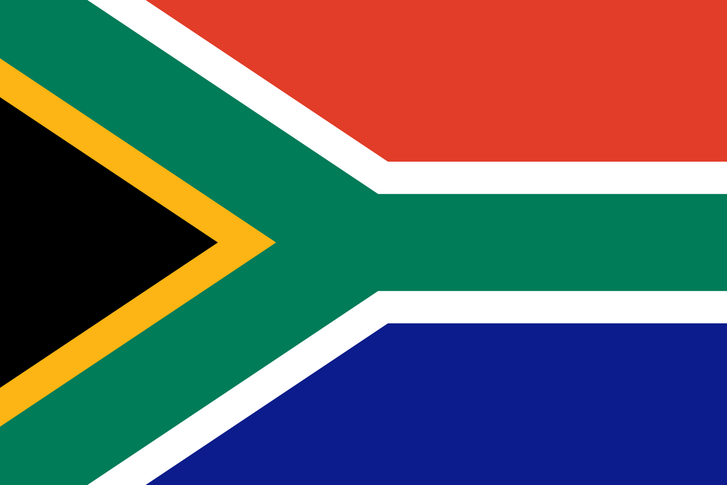 South Africa Flag 3x5ft Poly