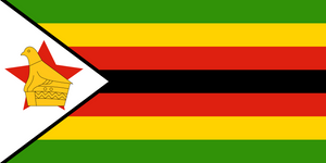 Zimbabwe Flag 3x5ft Poly