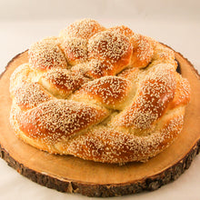 Load image into Gallery viewer, Large Round Braided Challah