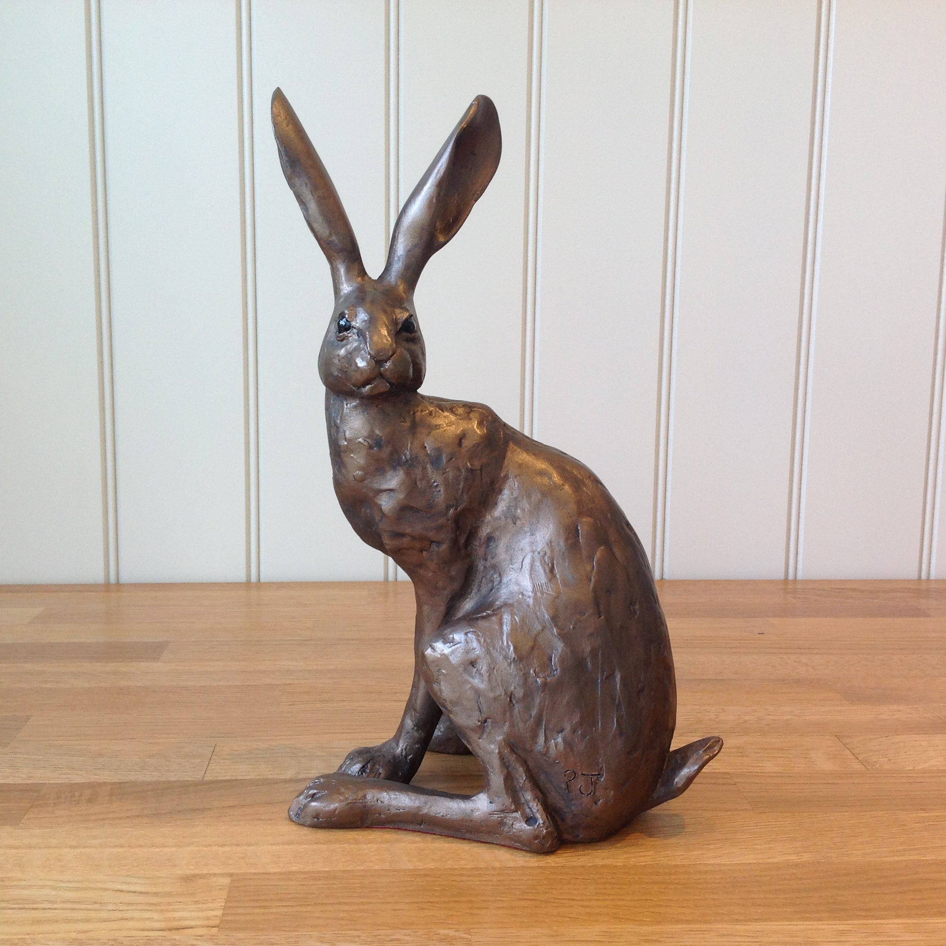 S105 Frith Sculpture HENRIETTA HARE by Paul Jenkins in cold cast bronze