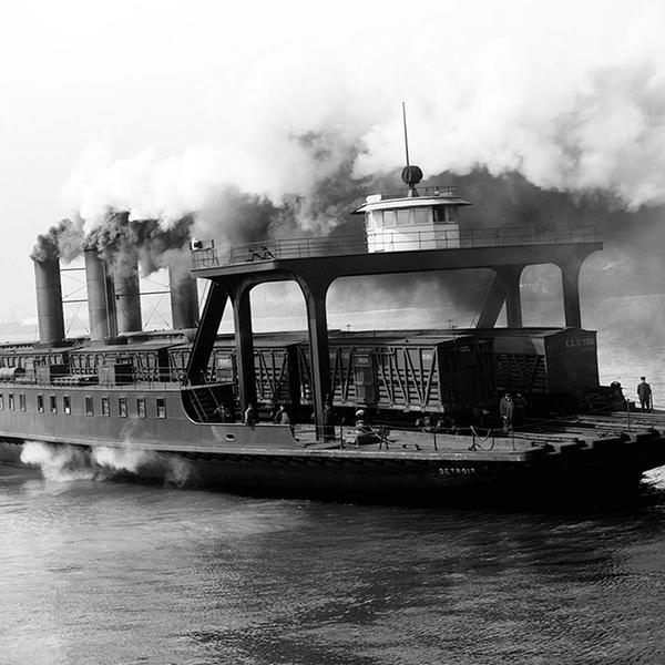 Transfer Steamer <br> Vintage Detroit - The Detroit Wallpaper Co.