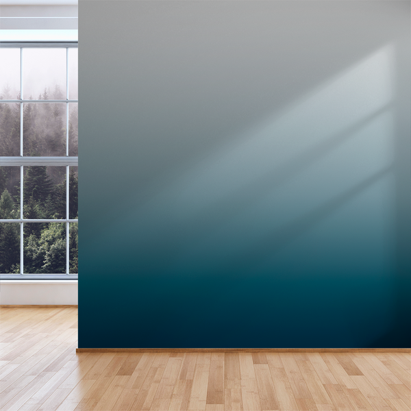 2 Color Ombré - Water - Trendy Custom Wallpaper | Contemporary Wallpaper Designs | The Detroit Wallpaper Co.