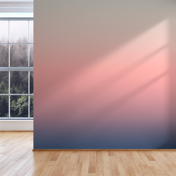 3 Color Ombré - Horizon - Trendy Custom Wallpaper | Contemporary Wallpaper Designs | The Detroit Wallpaper Co.