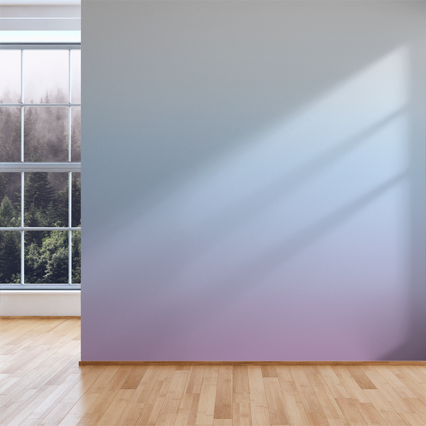 3 Color Ombré - Lilac - Trendy Custom Wallpaper | Contemporary Wallpaper Designs | The Detroit Wallpaper Co.