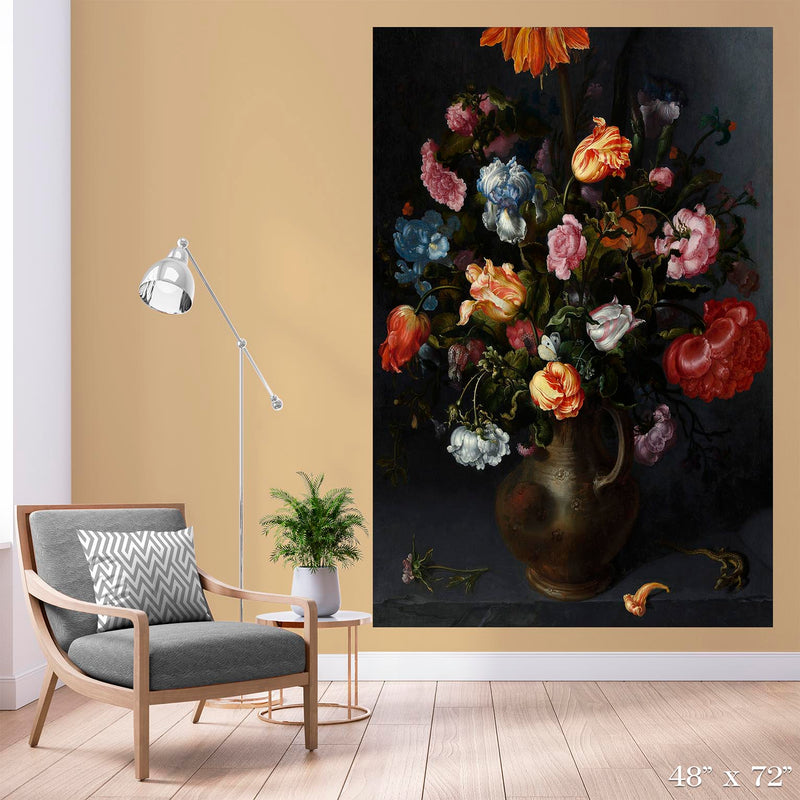 A Vase with Flowers Colossal Art Print