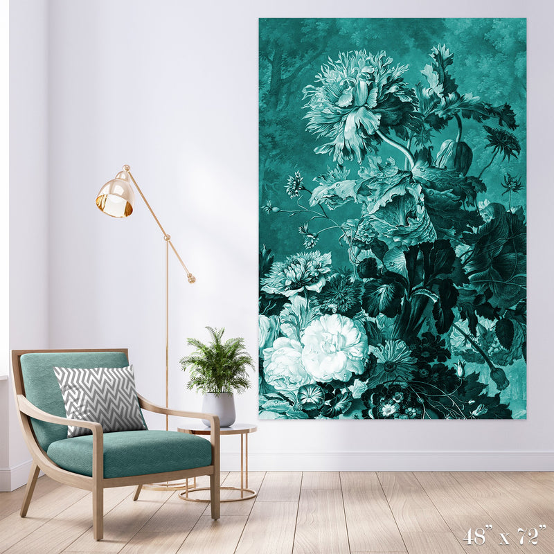 Arrangement Colossal Art Print - Trendy Custom Wallpaper | Contemporary Wallpaper Designs | The Detroit Wallpaper Co.