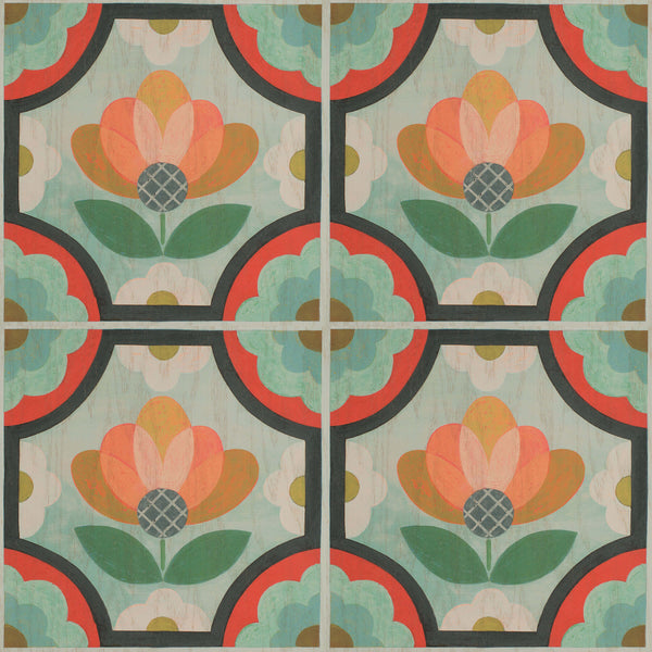 Blossom - Trendy Custom Wallpaper | Contemporary Wallpaper Designs | The Detroit Wallpaper Co.