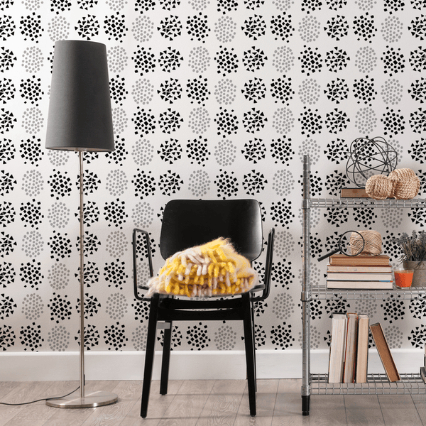 Burst - Trendy Custom Wallpaper | Contemporary Wallpaper Designs | The Detroit Wallpaper Co.