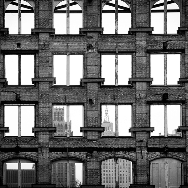 Facade <br> Amy Sacka Photography - The Detroit Wallpaper Co.