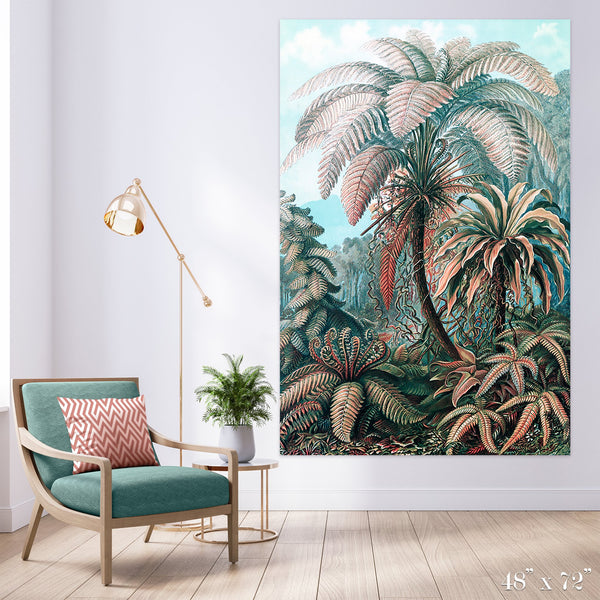 Fern Forest Colossal Art Print - Trendy Custom Wallpaper | Contemporary Wallpaper Designs | The Detroit Wallpaper Co.
