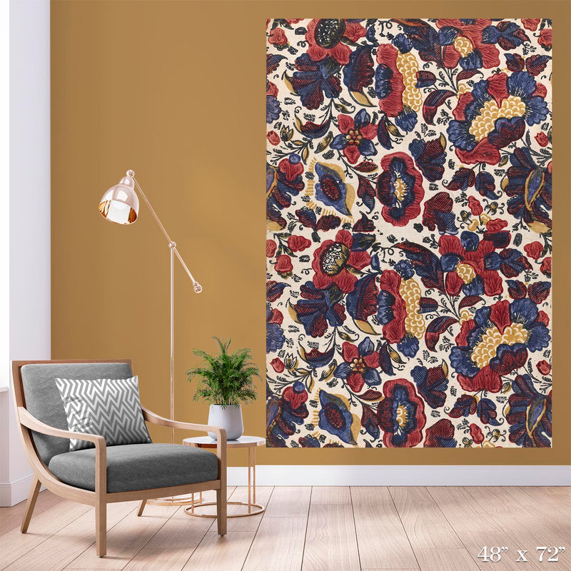 Floral Relief Colossal Art Print