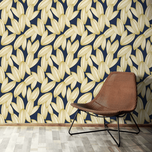 Foliage - Lush <br> Elizabeth Salonen - The Detroit Wallpaper Co.