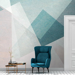 Frankie Mural <br> Great Wall - Trendy Custom Wallpaper | Contemporary Wallpaper Designs | The Detroit Wallpaper Co.