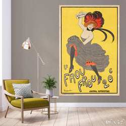 Frou Frou Colossal Art Print - Trendy Custom Wallpaper | Contemporary Wallpaper Designs | The Detroit Wallpaper Co.