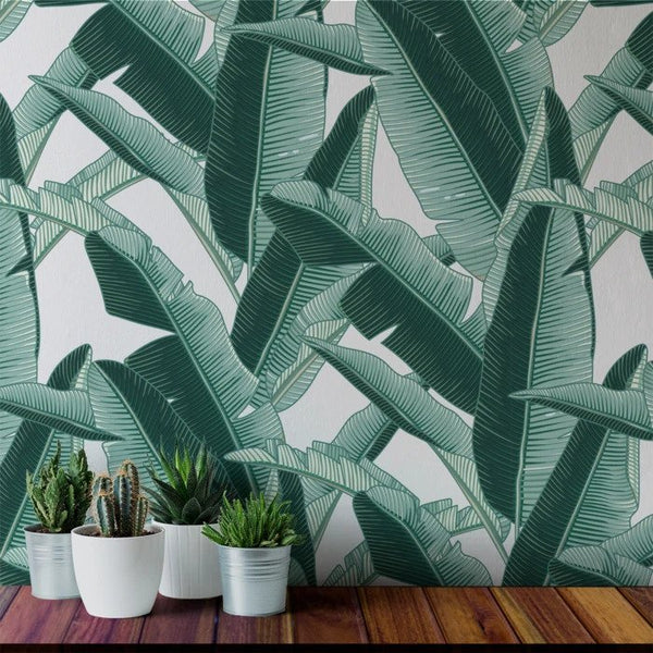 Lanai - Peel and Stick Wallpaper - Trendy Custom Wallpaper | Contemporary Wallpaper Designs | The Detroit Wallpaper Co.