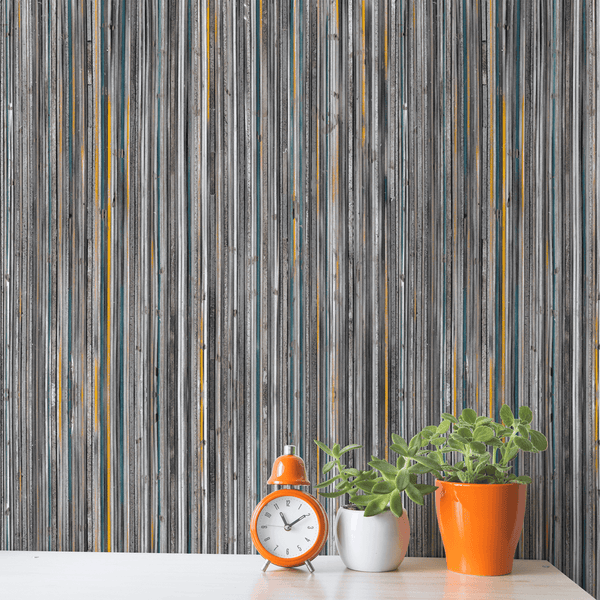 Line By Line <br> Nanci & Allen Einstein - Trendy Custom Wallpaper | Contemporary Wallpaper Designs | The Detroit Wallpaper Co.