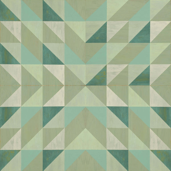 Lively Mint <br> Mirth Studios - The Detroit Wallpaper Co.