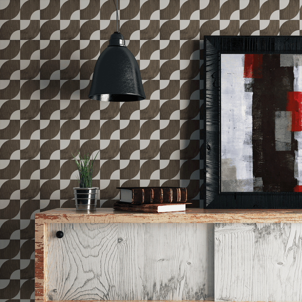 Centro - Trendy Custom Wallpaper | Contemporary Wallpaper Designs | The Detroit Wallpaper Co.