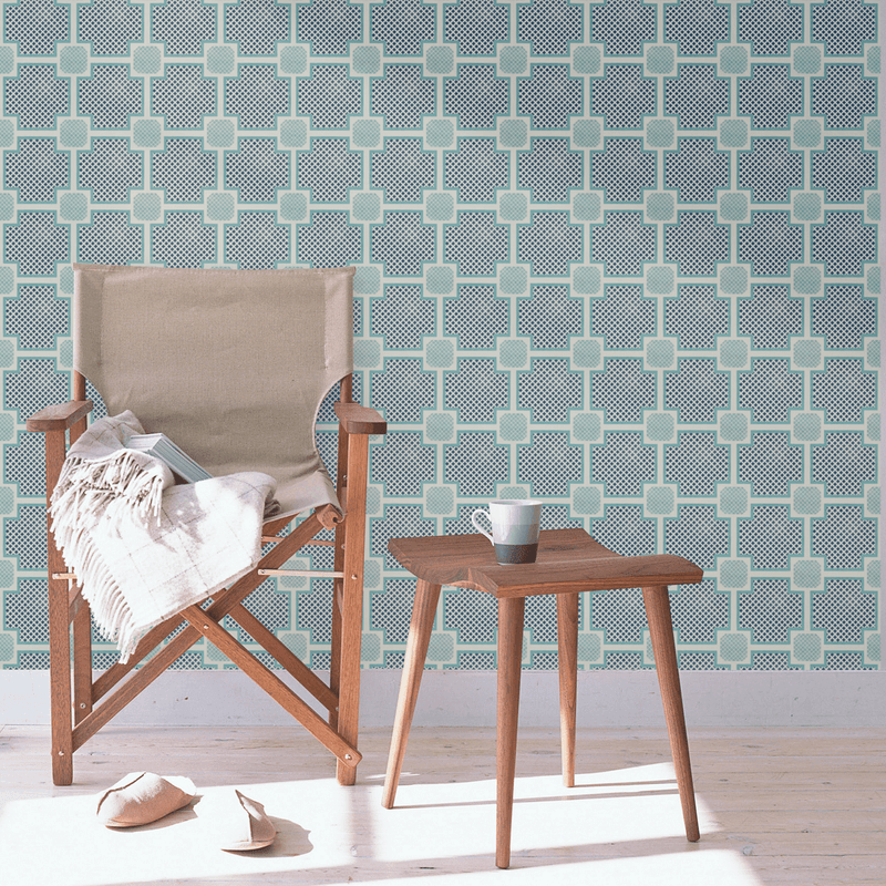 Palm Beach - Trendy Custom Wallpaper | Contemporary Wallpaper Designs | The Detroit Wallpaper Co.