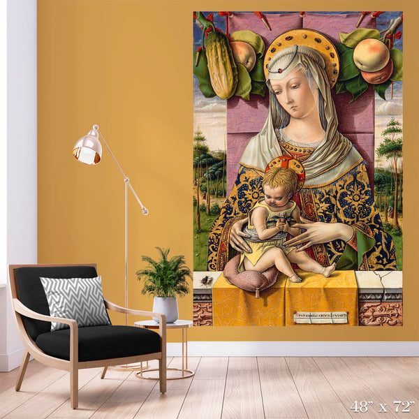 Madonna and Child Colossal Art Print
