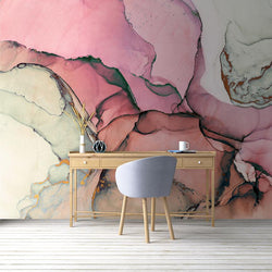 Marissa Mural <br> Great Wall - Trendy Custom Wallpaper | Contemporary Wallpaper Designs | The Detroit Wallpaper Co.