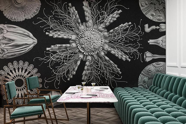 Microverse Mural - Trendy Custom Wallpaper | Contemporary Wallpaper Designs | The Detroit Wallpaper Co.