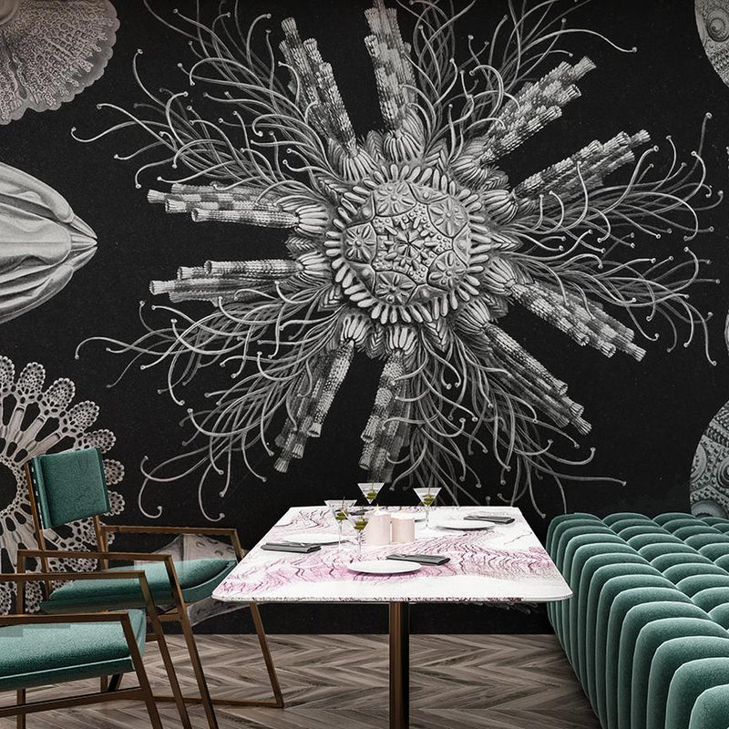 Microverse Mural <br> Great Wall - Trendy Custom Wallpaper | Contemporary Wallpaper Designs | The Detroit Wallpaper Co.
