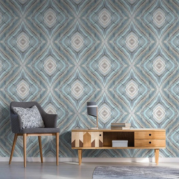 Onyx - Peel and Stick Wallpaper - Trendy Custom Wallpaper | Contemporary Wallpaper Designs | The Detroit Wallpaper Co.