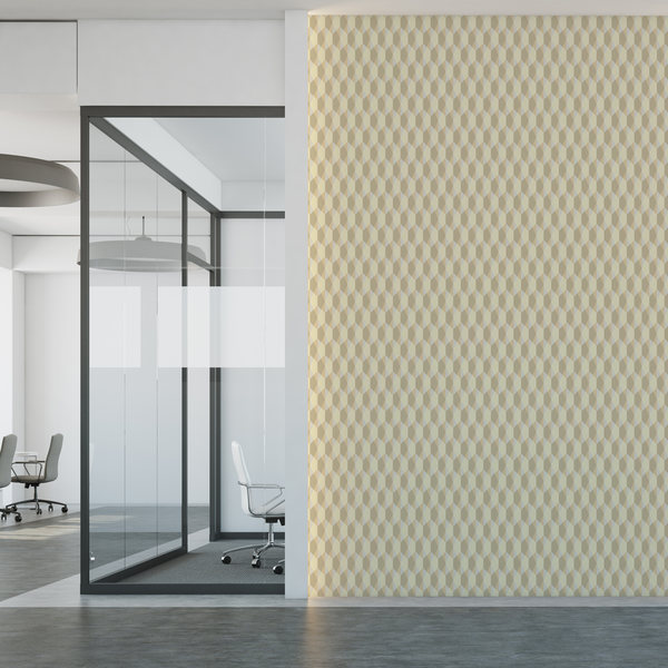 Origami - Neutral - Trendy Custom Wallpaper | Contemporary Wallpaper Designs | The Detroit Wallpaper Co.