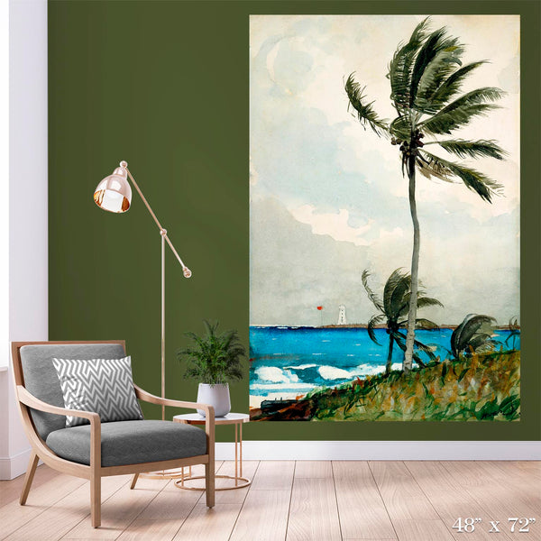 Palm Tree, Nassau Colossal Art Print