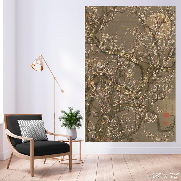 Plum Blossoms Colossal Art Print