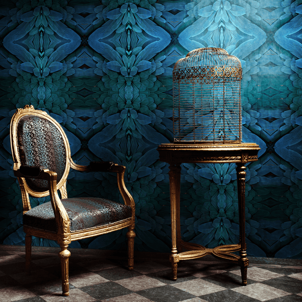 Plume - Trendy Custom Wallpaper | Contemporary Wallpaper Designs | The Detroit Wallpaper Co.