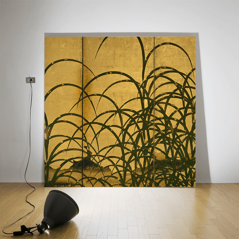 Pampas Grass, ca. 1615 <br> Detroit Institute of Arts - Trendy Custom Wallpaper | Contemporary Wallpaper Designs | The Detroit Wallpaper Co.
