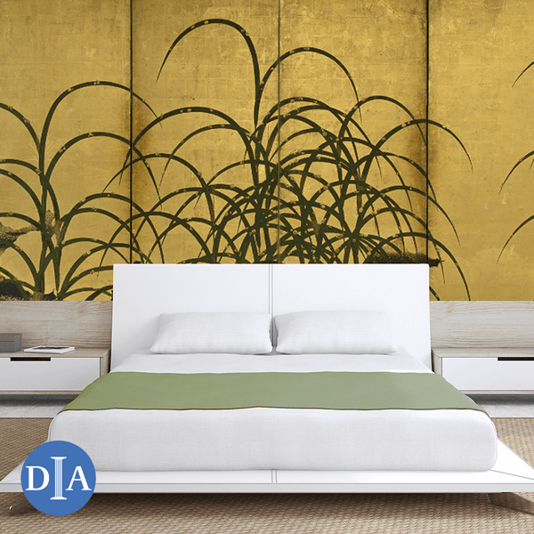 Pampas Grass, ca. 1615 - Trendy Custom Wallpaper | Contemporary Wallpaper Designs | The Detroit Wallpaper Co.