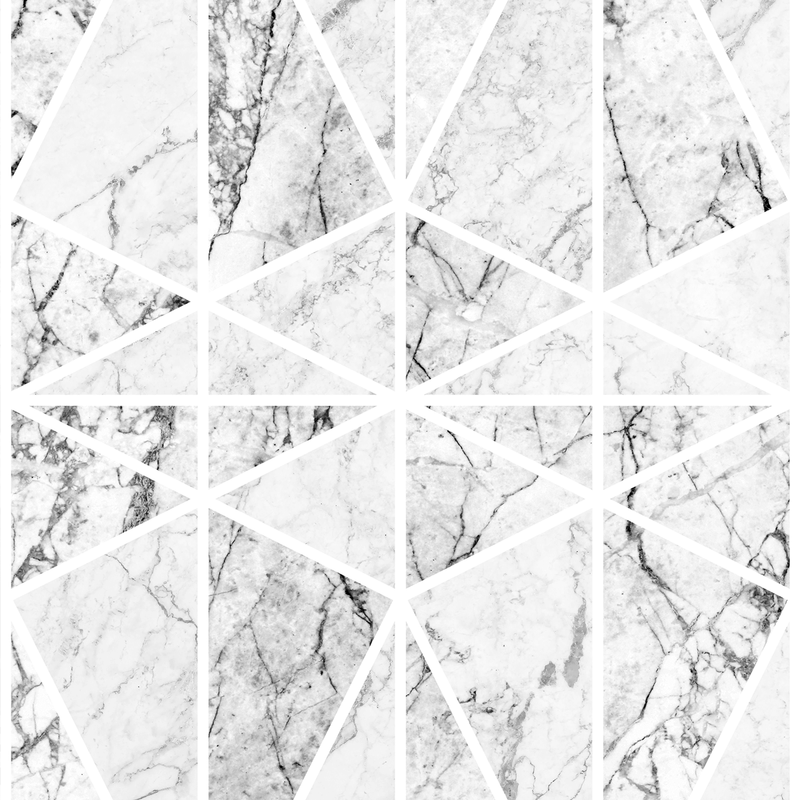 Prism - Carrara - Trendy Custom Wallpaper | Contemporary Wallpaper Designs | The Detroit Wallpaper Co.