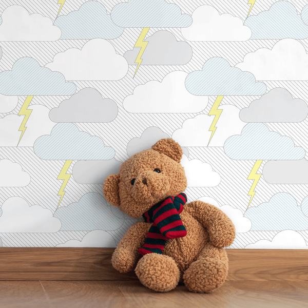 Rainy Days & Mondays - Trendy Custom Wallpaper | Contemporary Wallpaper Designs | The Detroit Wallpaper Co.