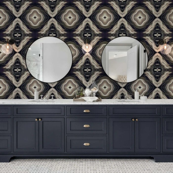 Reno - Peel and Stick Wallpaper - Trendy Custom Wallpaper | Contemporary Wallpaper Designs | The Detroit Wallpaper Co.